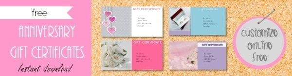 free gift certificate template 101 designs customize online then