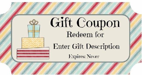 make your own printable birthday coupons