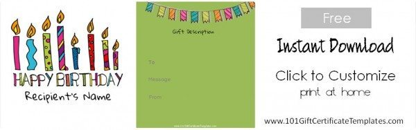 gift voucher templates free
