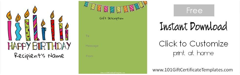 ... Gift Voucher Templates Free ...  Lunch Voucher Template