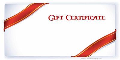 Free printable gift card