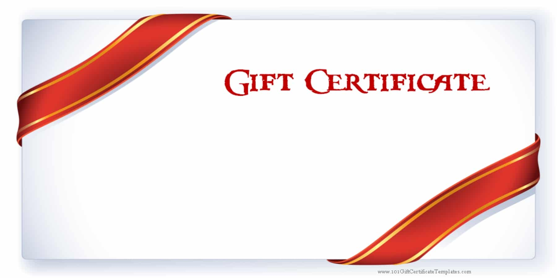 Printable Gift Certificate Templates – Gift Coupon Template