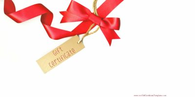 gift card which can be customized in any way with our gift card maker
