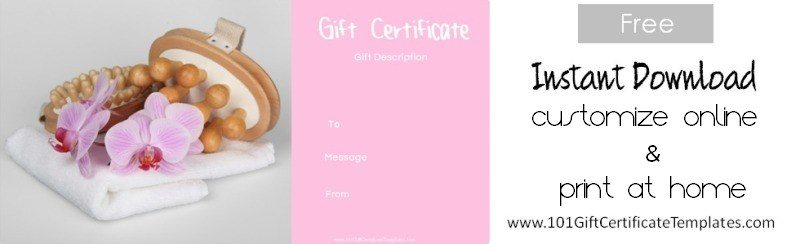 Spa gift certificates yelopaper Gallery