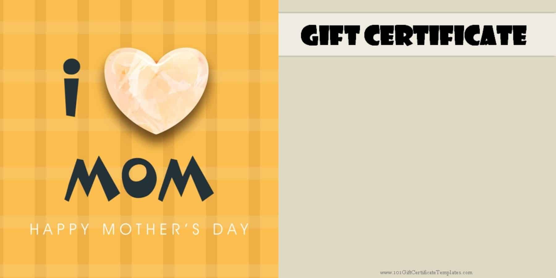 Mothers day gift certificate templates mothers day gift certificate templates xflitez Gallery