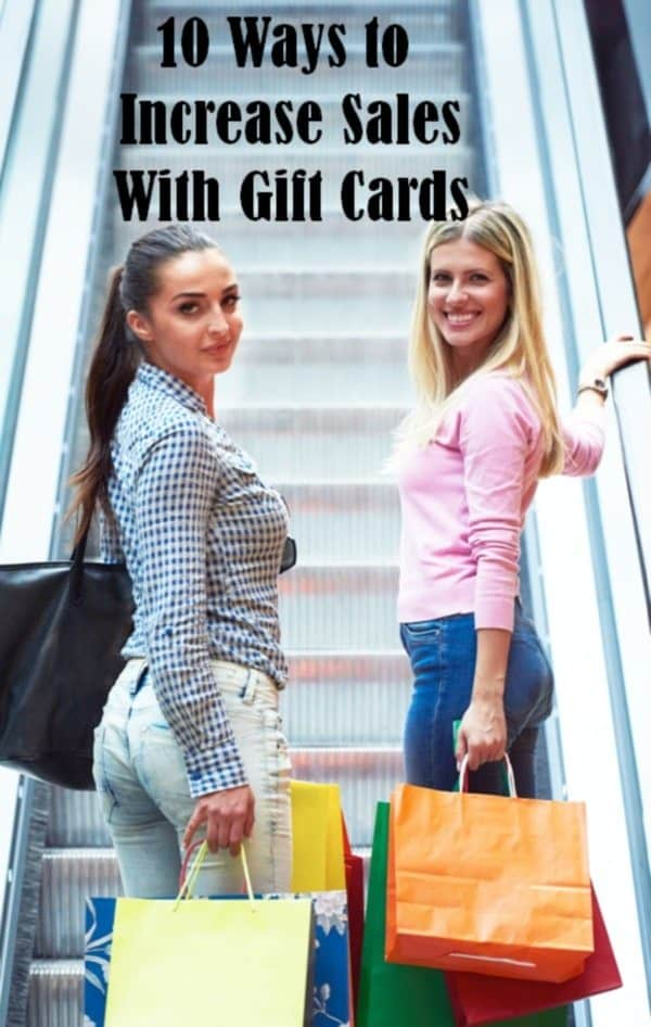 How to increase sales with gift certificates / gift cards