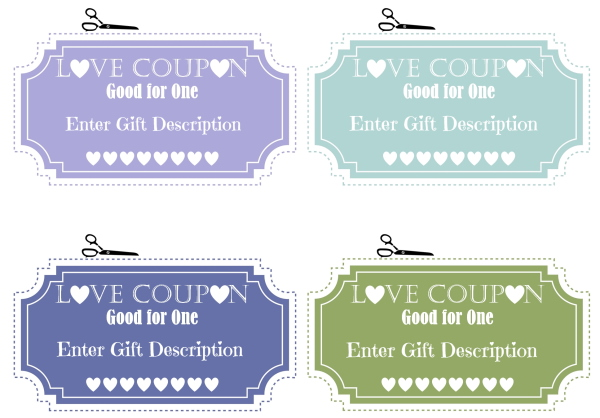 coupon book for boyfriend