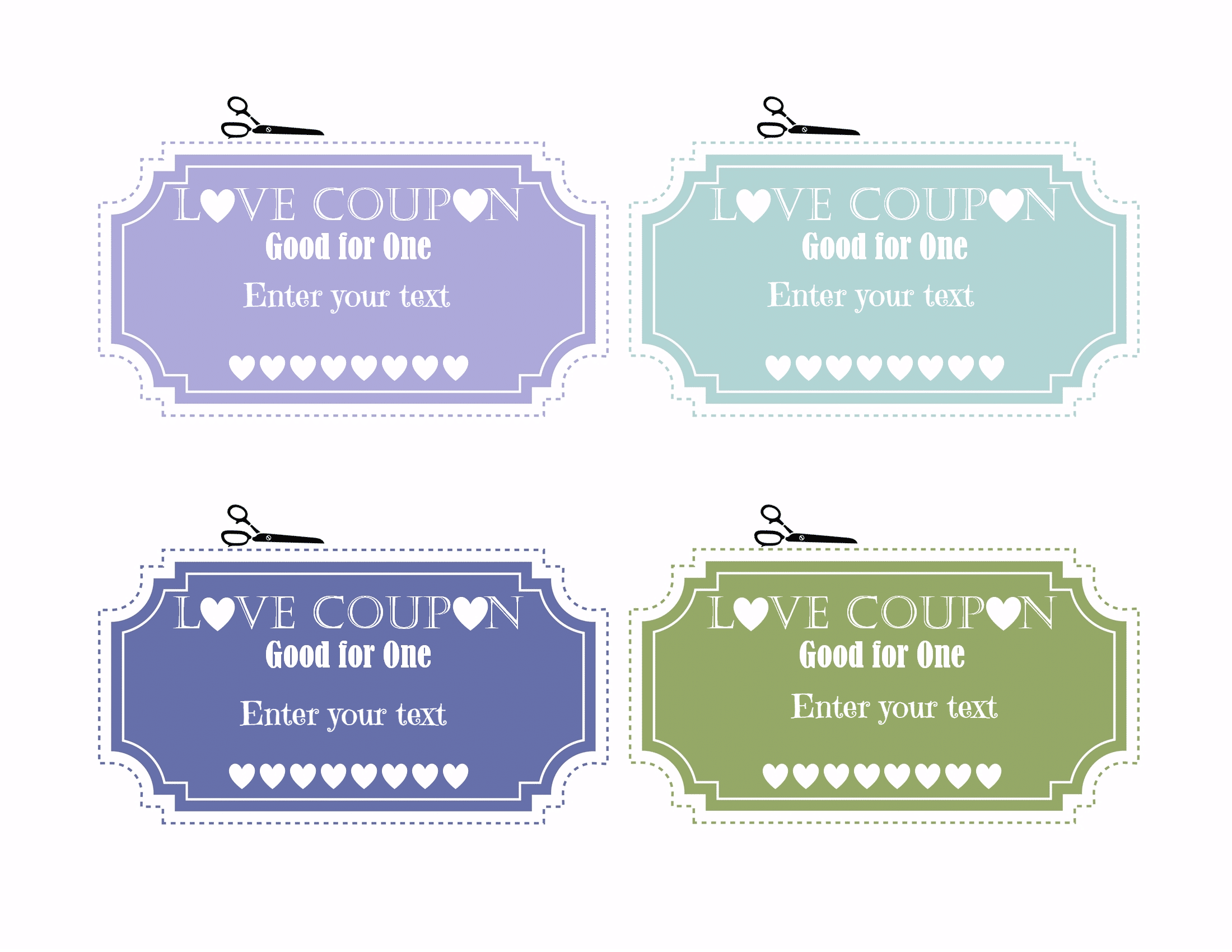 Free editable love coupons for him or her for Coupons for my boyfriend