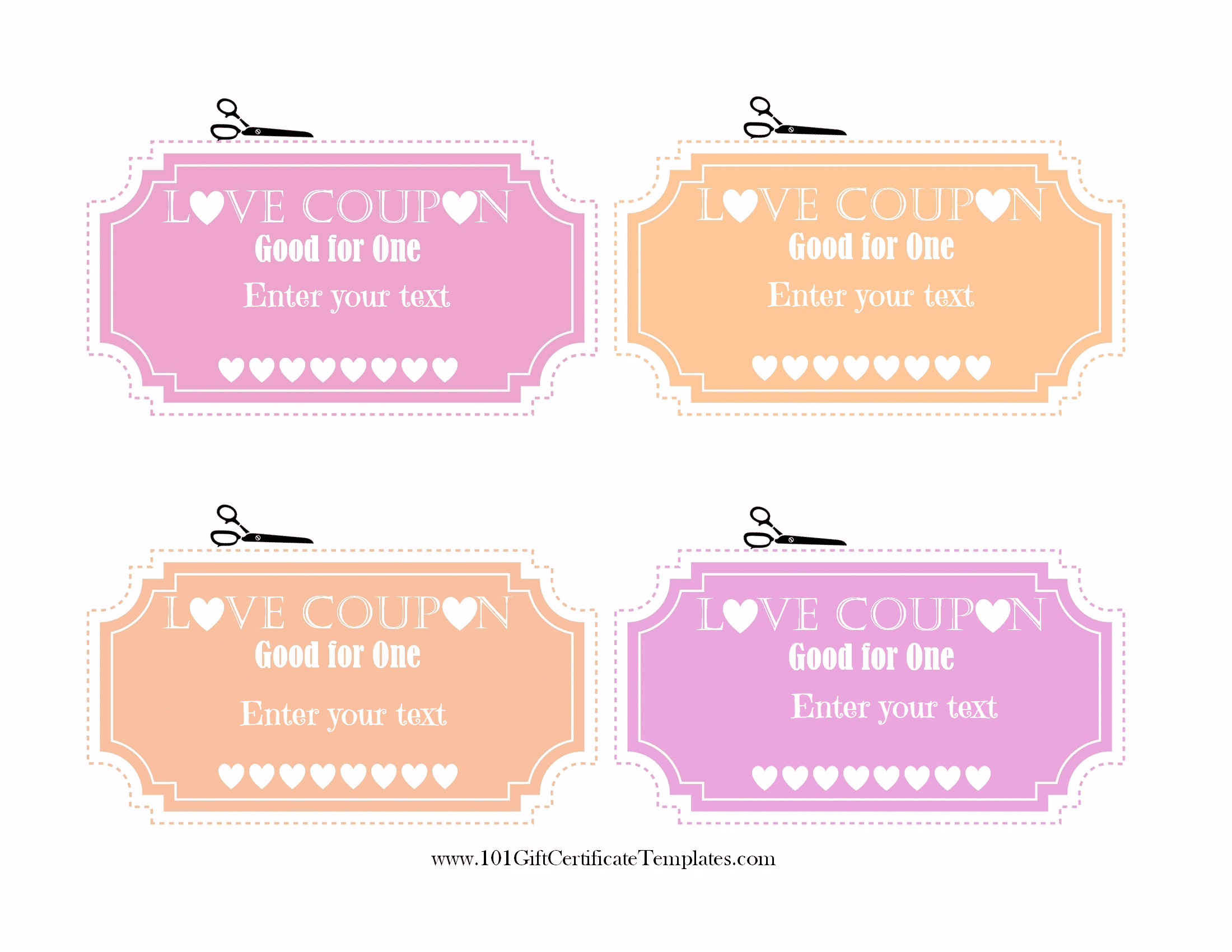 Free editable love coupons for him or her customize print yelopaper Image collections