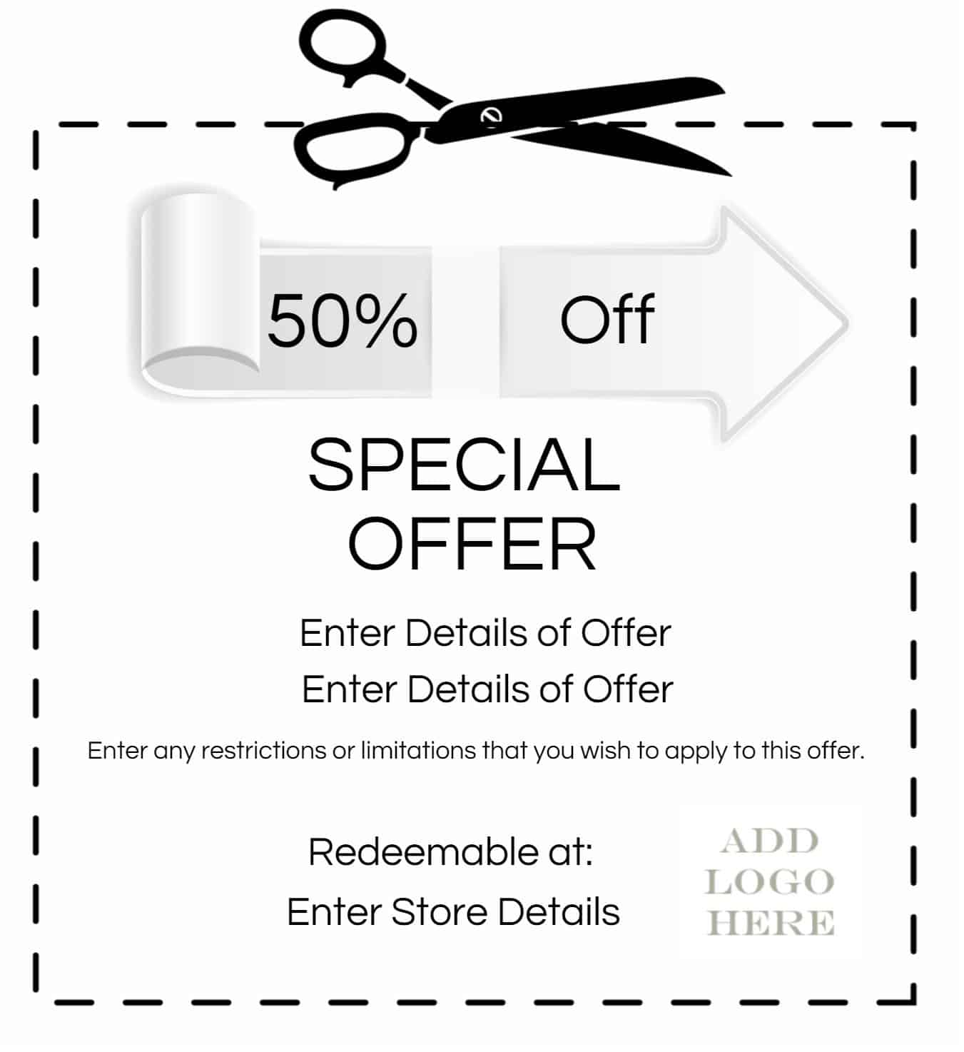 Exceptional Coupon Template Regarding Create Your Own Voucher Template