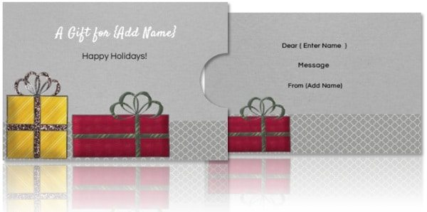 diy gift card holder template