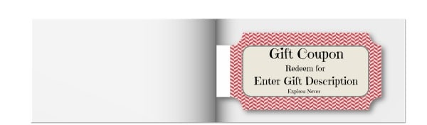 Make A Coupon Book  Christmas Coupons Template