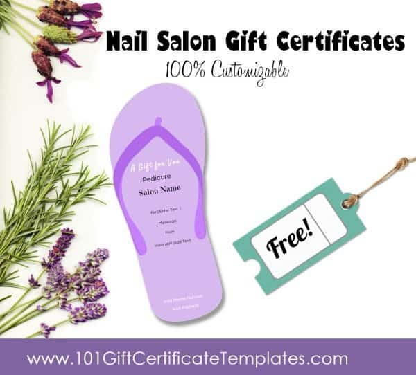 nail salon gift certificate template Top Result 70 Unique Nail Gift Certificate