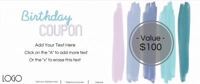 coupon for birthday