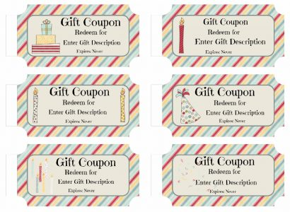 Free birthday coupons
