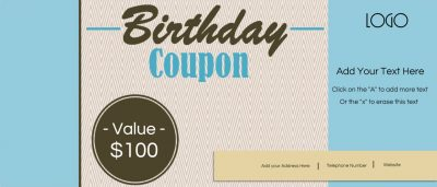Free printable birthday coupons