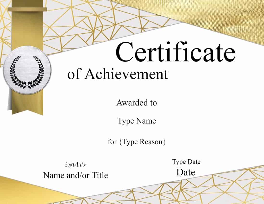 Design Your Own Certificate With Logo