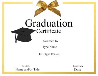 grad certificate