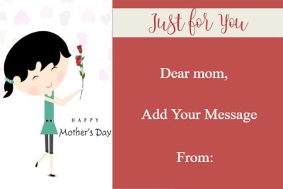 Happy Mother's Day template