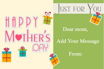 Mother's Day templates printable