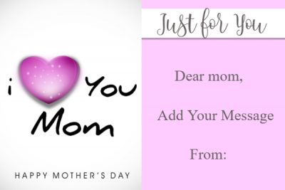 Gift cards for mom