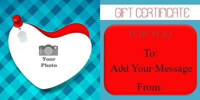 printable valentine gift card