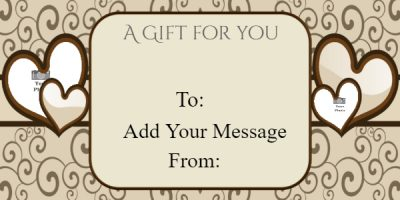 valentines day gift certificate ideas